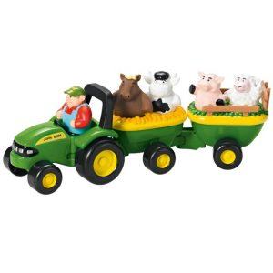 Igračka - traktor sa životinjama