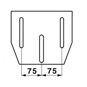 Sjedalo Klepp zračni Profi Star 124/5 tkanina
