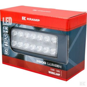 Radna lampa LA10048 LED Work Lamp 42W 3800lm - flood