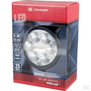 Radna LED lampa LA10016 LED Work Lamp 25W 2000lm - spot
