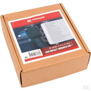 "Pneumatski udarni odvijač set 1/2"" 1919101205KR Pneumatic impact wrench set 1/2"""