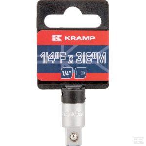 """Priključak za nasadnik 1/4"""" - 3/8"""" 18060069250KR Socket adaptor 1/4"""" - 3/8"""""""