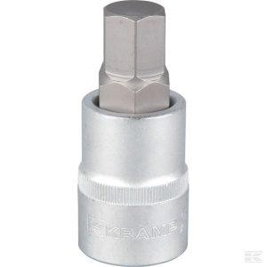 """Odvijač sa svjećicom 3/4"""" Hex 19 mm 18060195019KR Screwdriver bit socket 3/4"""" Hex 19 mm"""