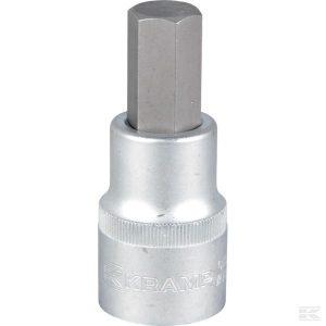 """Odvijač sa svjećicom 1/2"""" Hex 17 mm 18060195017KR Screwdriver bit socket 1/2"""" Hex 17 mm"""