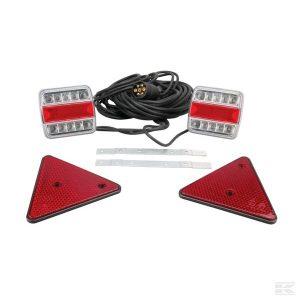 Svjetlosna LED oprema magnetna LA65003 Light set LED 12V magnetic 12m cable