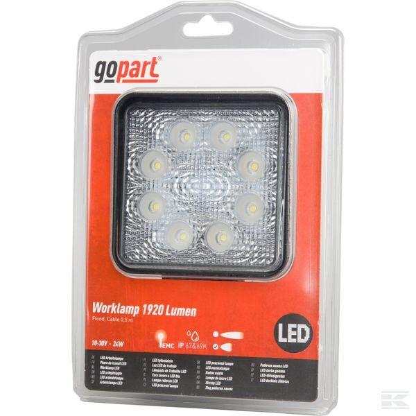 Radna LED lampa širokosežna LA15025 LED Work Lamp 24W 1920 lm - flood