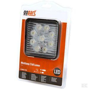 Radna LED lampa širokosežna LA15022 LED Work Lamp 27W 2160lm - flood
