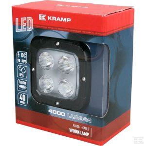 Radna LED lampa širokosežna LA10044 LED Work Lamp 40W 4000lm - flood