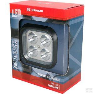 Radna LED lampa dalekosežna LA10054 LED Work Lamp 40W 3600lm - spot