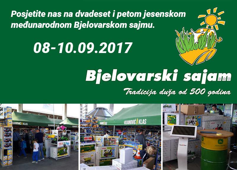 Bjelovarski poljoprivredni sajam 2017.g.