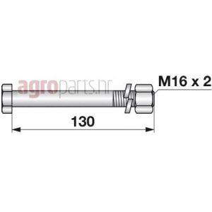 M16x2x130mmweb
