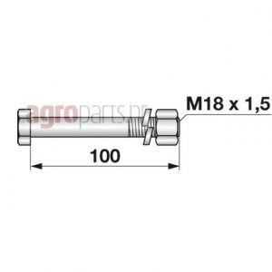 M18x1,5x100mmweb