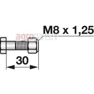 M8x1,25x30web