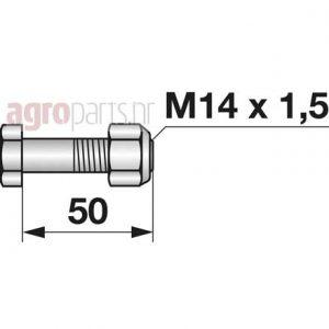 M14x1,5x50web