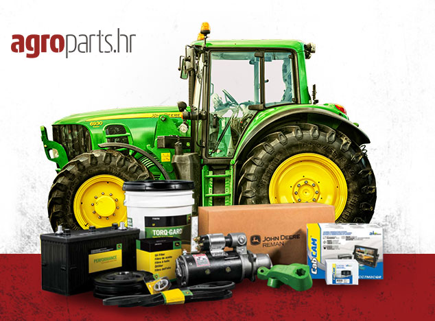 Agroparts.hr | Originalni i zamjenski rezervni dijelovi i dodatna oprema