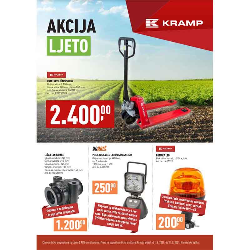 Karmp promocija za ljeto 2021 | Agroparts.hr